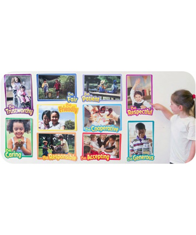 First Rate Character Traits Bulletin Board Set