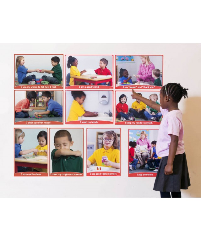 Friendly Reminders Bulletin Board Set