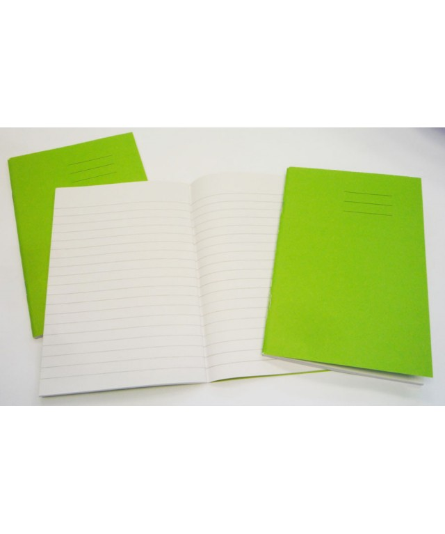 Exercise Books 6 X 4 48 Page 7mm Withcentre Line Vivid Blue