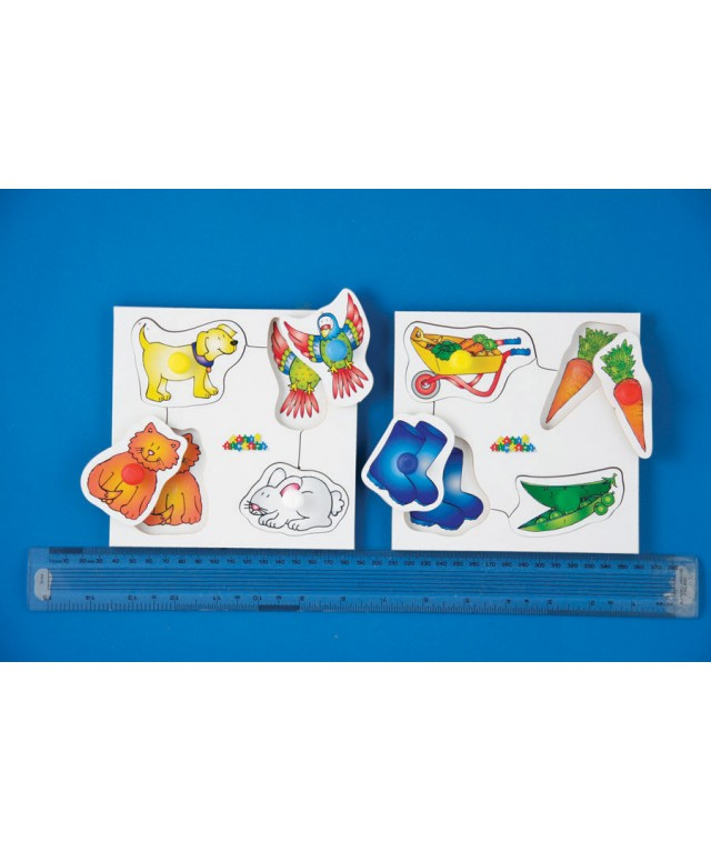 Toddler Peg Board Puzzle Set 2