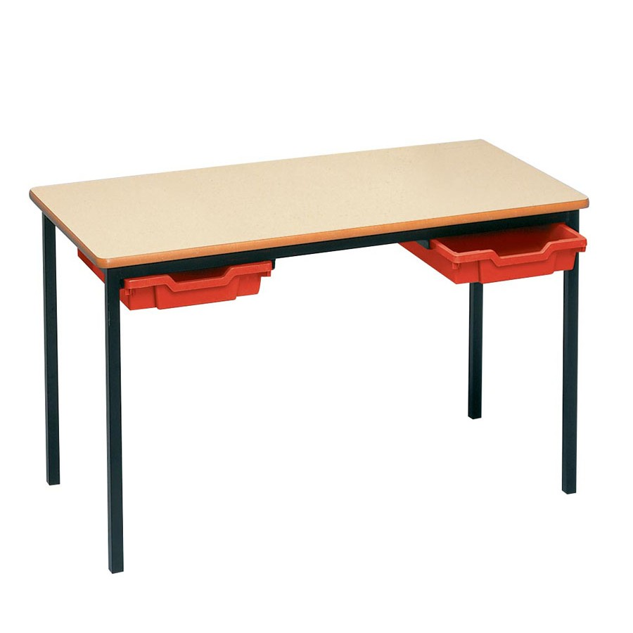 Admirable Tray Tables Welded Frame 600 X 600Mm Pvc Edge Gmtry Best Dining Table And Chair Ideas Images Gmtryco