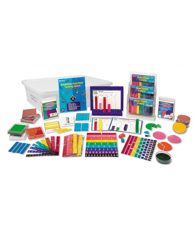 Rainbow Fraction Teaching System Kit