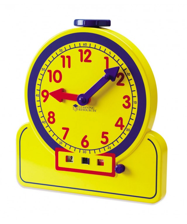 Primary Time Teacher 12-Hour Learning Clock