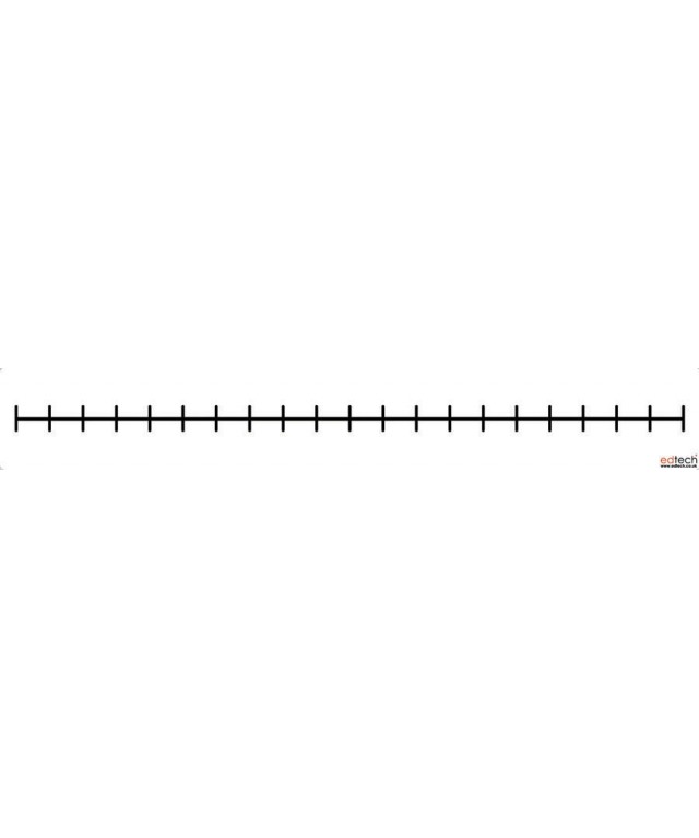Magnetic Blank Number Line