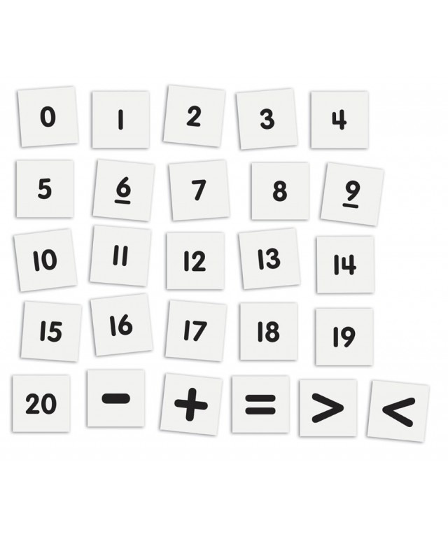 2-Sided Magnetic Numbers
