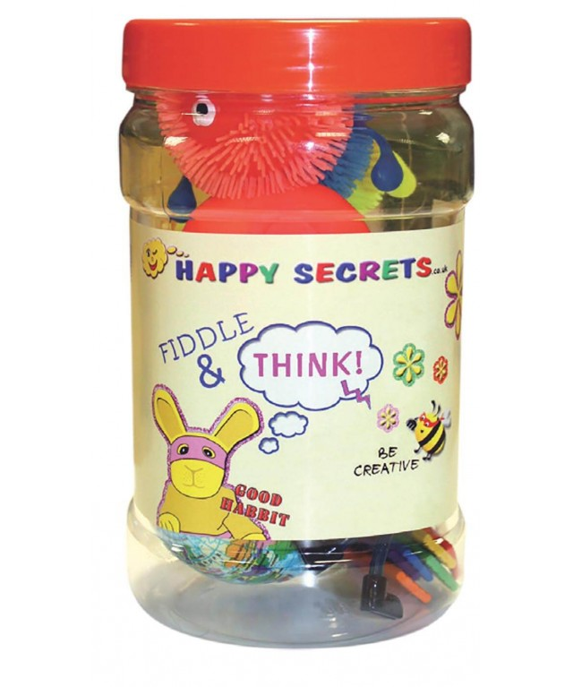 Fiddle & Think Sensory Jars - Original