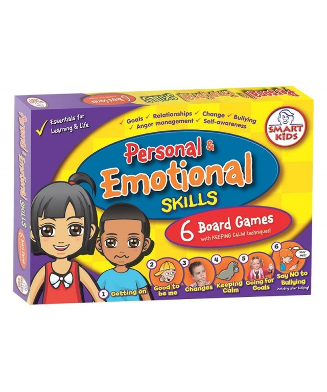 6 Personal, & Emotional Skills Board Games