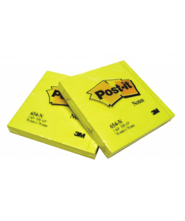 Post It Yellow Notes 38 X 51mm
